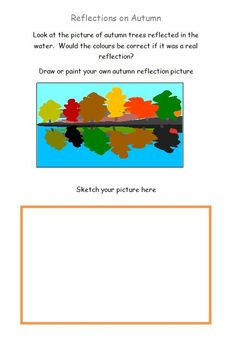 Learn about reflections by using an autumn landscape as a starting point.