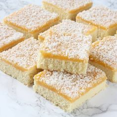 Gooey Butter Cake is a St. Louis specialty that we love. The Salvation Army provided grocery orders through social services. Swedish Cookies, Grandma Cookies, Cookie Cake Pie, Gooey Butter Cake, Swedish Recipes, Kitchen Recipes, No Bake Desserts, Food And Drink, Favorite Recipes