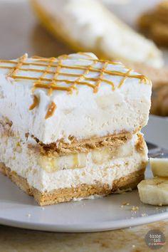 Peanut Butter Banana Icebox CakeReally nice recipes. Every  Mein Blog: Alles rund um Genuss & Geschmack  Kochen Backen Braten Vorspeisen Mains & Desserts!