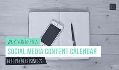 Digital Information World: info-graphics   social media content calendar