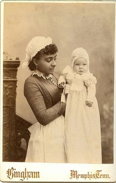 African American nanny...  pair by Kingkongphoto & www.celebrity-photos.com, via Flickr