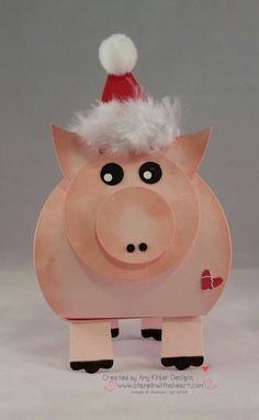 Curvey Keepsake Box Pig - Stampin' Connection