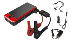 PowerAll Rosso Red/Black Portable Power Bank and Car Jump Starter *** Be sure to check out this awesome product. (This is an affiliate link and I receive a commission for the sales) power adapters Bright Led Flashlight, Emergency Equipment, Gasoline Engine, Lead Acid Battery, Portable Charger, Photo Accessories, Technology Gadgets, Car Gadgets, Photo Booth