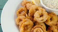 Beer and Mustard Seed-Fried Squid