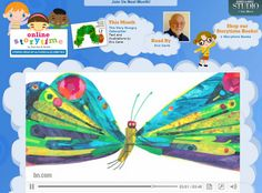 Online Storytime by Barnes {June 2013 online book is The Kissing Hand!}