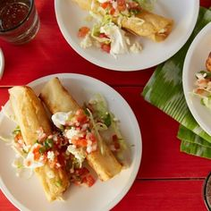 Crispy Chicken Mini-Tacos Recipe #recipes #tacos #cincodemayo