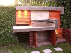 Asador de ladrillo patio pinterest - Como hacer un asador ...