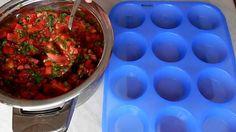 Как заморозить помидоры с зеленью