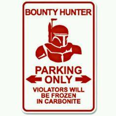 Boba fett parking