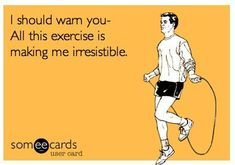 You better warn em! #FitnessFunnies #HitItHard #TBCWoodbury