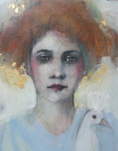Oeuvres    - Celine Ranger - peinture délicate humain féminine