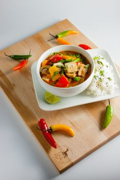 Thai Red Curry with Vegetables and Tofu | Home Sweet Jones