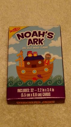 Bible Noah's ark an old maid card game