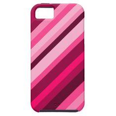 Diagonal Stripes/Lines (Pinks & Reds)