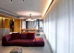 Urban Apartment Located in Taipei City by Create + Think Design Studio