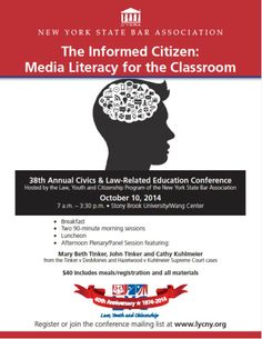 Flyer Announcing the 2014 Conference www.nysba.org/LYCconf