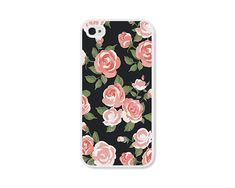 Hey, I found this really awesome Etsy listing at http://www.etsy.com/listing/175323477/coral-peach-floral-iphone-case-iphone-4