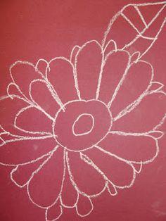 mrspicassos art room: chalk