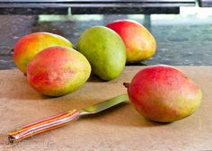 How to Cut a Mango | ASpicyPerspective...