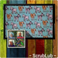 """Scrub Caps, """"Goat Yoga Anyone"""" Unique and Fun Surgical Hats for Men and Women in 4 comfortable styles by ScrubLub - GS Handmade Goat Yoga, Scrub Caps, I Love Lucy, Comfortable Fashion, Dark Colors, Hats For Men, Scrubs, Goats, Unique"""