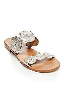 e34c01f19ba Jack Rogers Lauren Slide Sandals