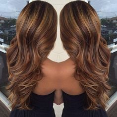 Brown Layered Hair - Hairstyles and Beauty Tips