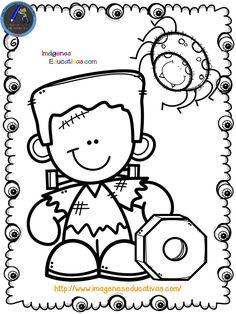 Librito para colorear en HALLOWEEN - Imagenes Educativas