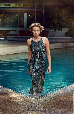 Im Interview mit der Vanity Fair erklärt Jennifer Lawrence, dass eine glutenfreie Diät die 'neue coole Essstörung' sei.