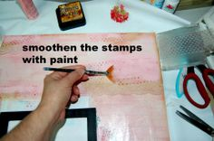 Mixed Media Canvas Tutorials   Step by Step Mixed Media Canvas Tutorial by Marilyn Rivera