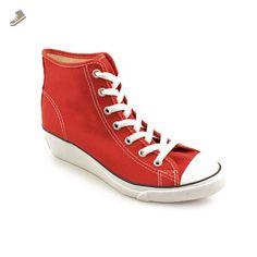 Converse Chuck Taylor Hi-Ness Hi Red / 537105F 600 - Converse chucks for women (*Amazon Partner-Link)