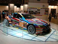 2012 #BMW Art Car by Jeff Koons.
