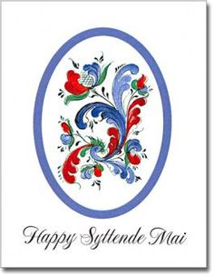 Happy Syttende Mai - Norwegian Independence Day - May Web Design Firm, Modern Design, Norwegian Rosemaling, Easter Traditions, Sunday School Crafts, My Roots, Tole Painting, Halloween Kids