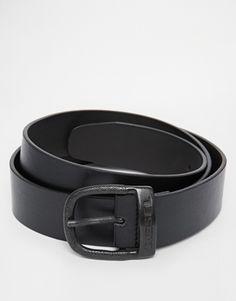 Diesel Bawre Leather Look Belt