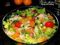 Paradise-Cuisine , Recipes : Romaine Salad with Mandarin si Citrus Vinaigrette(Salata romaine cu mandarine) Citrus Vinaigrette, Romaine Salad, Summer Food, Summer Recipes, Guacamole, Cabbage, Paradise, Vegetables, Ethnic Recipes