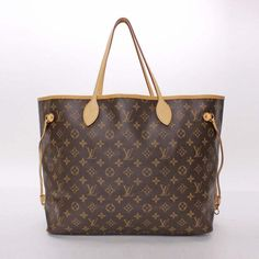 Louis Vuitton Neverfull GM Monogram Shoulder bags Brown Canvas M40157