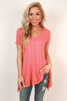 Always A Free Spirit Tee in Coral