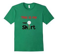 Mens Funny This Is My Golf Tee Shirt Fathers Day Dad T-sh...