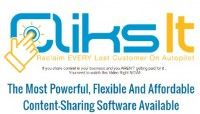 FREE: ClicksIt  Turn Shared Content Into Your Personal Billboard