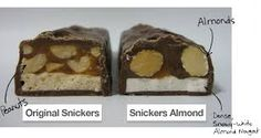 Snickers nuts & almond