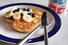 the Worktop » Vanilla Yoghurt (Yogurt) Pancakes | the Worktop by Tina Jui