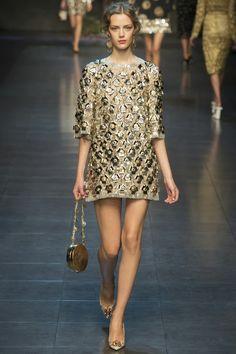 DOLCE & GABBANA - LE DÉFILÉ PRINTEMPS-ÉTÉ 2014 – FASHION WEEK OF MILAN. http://fashionblogofmedoki.blogspot.be/