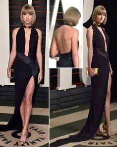 Taylor Swift after party pós-Oscar da Vanity Fair 2016 Taylor Swift Gown, Karlie Kloss Taylor Swift, Taylor Swift Songs, Taylor Swift Pictures, Taylor Alison Swift, Celebrity Red Carpet, Celebrity Dresses, Vanity Fair, Beautiful Dresses
