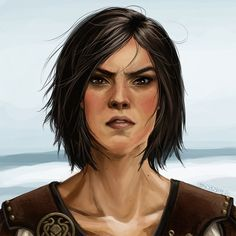 "Role Model: Asha Greyjoy from ""Song of Ice & Fire"" series by George R. R. Martin (Pic by Gadgetorious)"