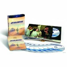 Star Wars: The Complete Saga Episodes I-VI Box Set 9-Disc Blu-ray