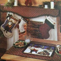Christmas patterns to deck your halls, mantels and trees. Even your tables too...