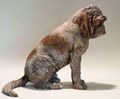 Nick Mackman clay sculpture