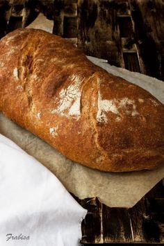 La cocina de Frabisa: Hogaza de pan de levadura natural y centeno. RECETA