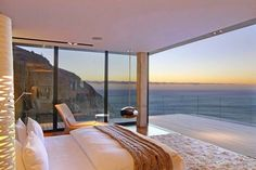 Villa built in the mountains with full sea views from almost every room - House And . - Villa built in the mountains with full sea views from almost every room – home and decor - Dream Master Bedroom, Coastal Master Bedroom, Coastal Bedrooms, Home Decor Bedroom, Bedroom Ideas, Modern Bedrooms, Ikea Bedroom, Small Bedrooms, Bedroom Designs
