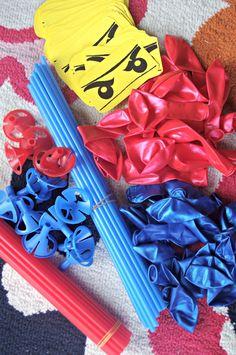 Creating Ninjago balloons