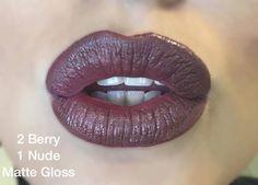 Berry and Nude LipSense